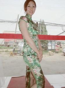 チャイナ緑